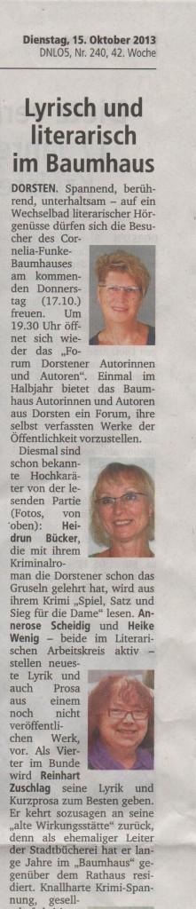 Lesung Baumhaus 001