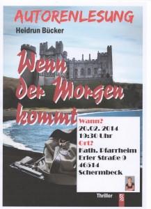 Lesung Schermbeck 001